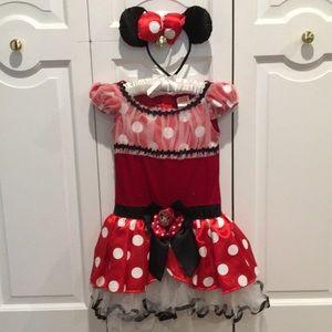 Like new Minnie Mouse costume. Dress & headband